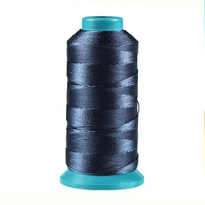 100% filament black polyester high tenacity sewing thread